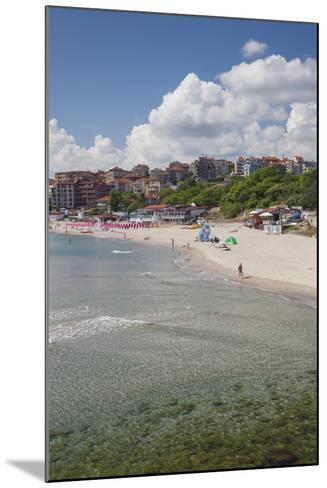 Bulgaria, Black Sea Coast, Sozopol, Town Beach-Walter Bibikow-Mounted Photographic Print