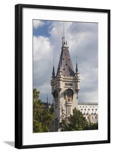 Romania, Moldavia, Iasi, Palace of Culture, Daytime-Walter Bibikow-Framed Art Print