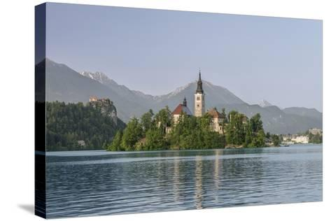 Slovenia, Bled, Bled Island-Rob Tilley-Stretched Canvas Print