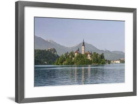Slovenia, Bled, Bled Island-Rob Tilley-Framed Art Print