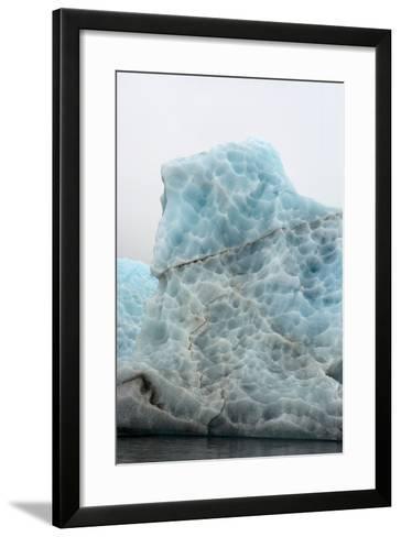 Norway. Svalbard. Spitsbergen. Hornsund. Brepollen. Icebergs Patterns-Inger Hogstrom-Framed Art Print