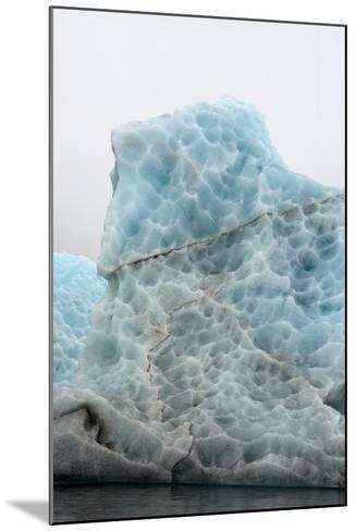 Norway. Svalbard. Spitsbergen. Hornsund. Brepollen. Icebergs Patterns-Inger Hogstrom-Mounted Photographic Print