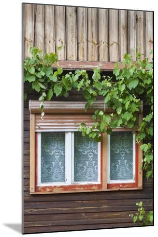 Romania, Transylvania, Sibiel, Window Detail-Walter Bibikow-Mounted Photographic Print
