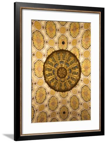 Romania, Bucharest, Grand Synagogue, Interior-Walter Bibikow-Framed Art Print