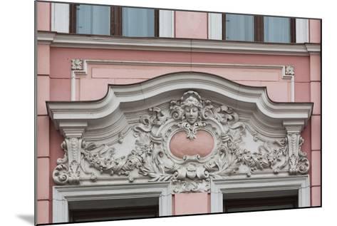 Romania, Transylvania, Brasov, Romanian National Bank Building-Walter Bibikow-Mounted Photographic Print