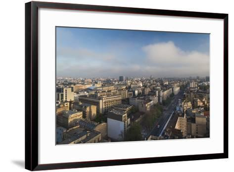 Romania, Bucharest, Central Bucharest, Nicolae Balcescu Boulevard-Walter Bibikow-Framed Art Print