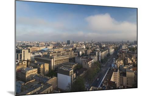 Romania, Bucharest, Central Bucharest, Nicolae Balcescu Boulevard-Walter Bibikow-Mounted Photographic Print