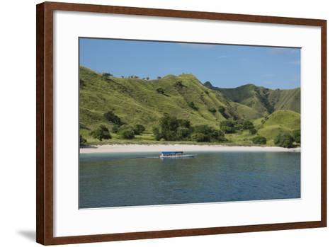 Indonesia, Komodo Island. Komodo NP. Pink Beach Cove, Savu Sea-Cindy Miller Hopkins-Framed Art Print