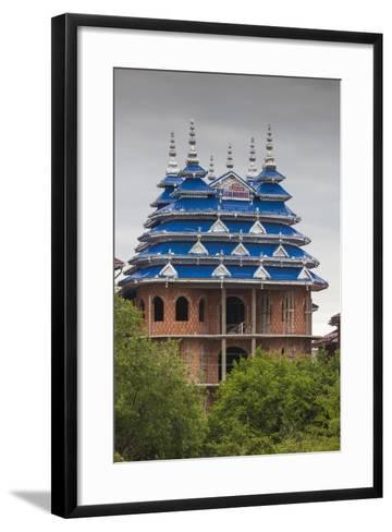 Romania, Transylvania, Huedin, Roma Palaces-Walter Bibikow-Framed Art Print