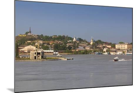 Romania, Danube River Delta, Tulcea, Danube River Waterfront-Walter Bibikow-Mounted Photographic Print