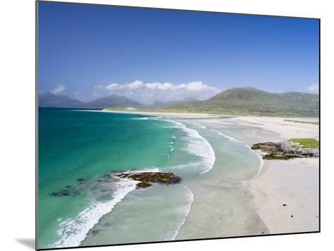 Seilebost Beach on South Harris, Sound of Transay. Scotland-Martin Zwick-Mounted Photographic Print