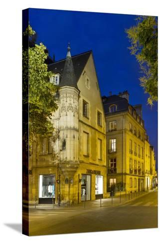 Historic Architecture C1620 in the Marias, Paris, France-Brian Jannsen-Stretched Canvas Print