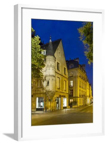 Historic Architecture C1620 in the Marias, Paris, France-Brian Jannsen-Framed Art Print