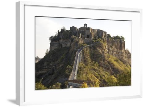 Italy, Civita de Bagnoregio-John Ford-Framed Art Print