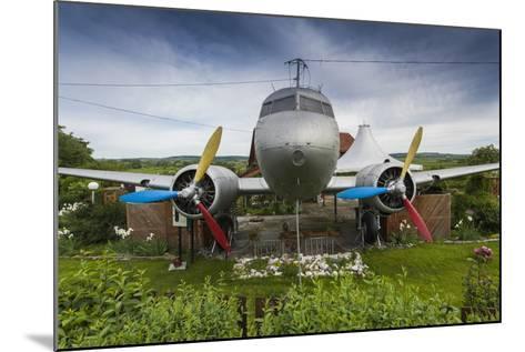 Romania, Transylvania, Faget, Russian Built Lisunov Li-2 Aircraft-Walter Bibikow-Mounted Photographic Print
