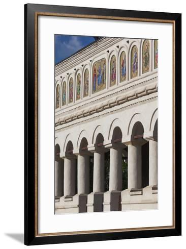 Romania, Bucharest, Romanian Patriarchal Cathedral, Exterior-Walter Bibikow-Framed Art Print