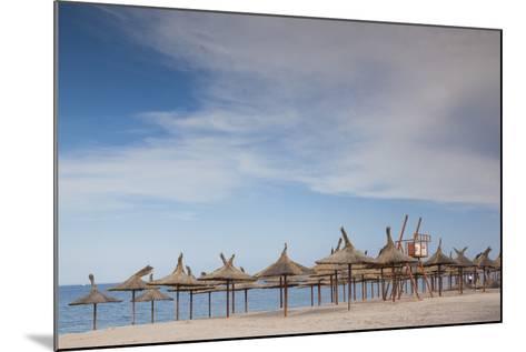 Romania, Black Sea Coast, Vama Veche, Beach View-Walter Bibikow-Mounted Photographic Print