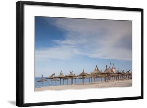 Romania, Black Sea Coast, Vama Veche, Beach View-Walter Bibikow-Framed Art Print