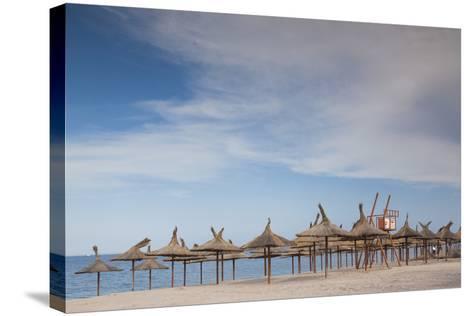 Romania, Black Sea Coast, Vama Veche, Beach View-Walter Bibikow-Stretched Canvas Print