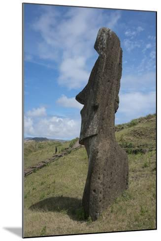 Chile, Easter Island. Rapa Nui NP, Historic Site of Rano Raraku-Cindy Miller Hopkins-Mounted Photographic Print
