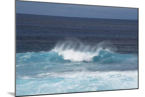 Chile, Easter Island. Pacific Ocean Views of Crashing Waves-Cindy Miller Hopkins-Mounted Photographic Print