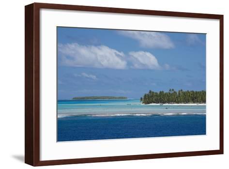 Cook Islands. Palmerston Island, a Classic Atoll Seascape-Cindy Miller Hopkins-Framed Art Print