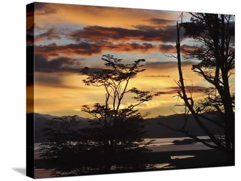 Argentina, Ushuaia, Sunrise-John Ford-Stretched Canvas Print