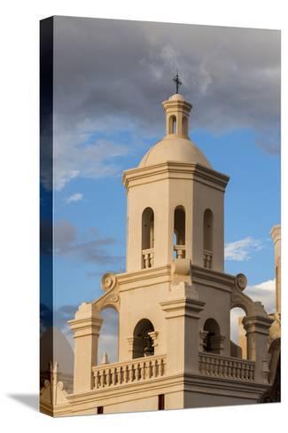 USA, Arizona, Tucson, Mission San Xavier del Bac-Peter Hawkins-Stretched Canvas Print