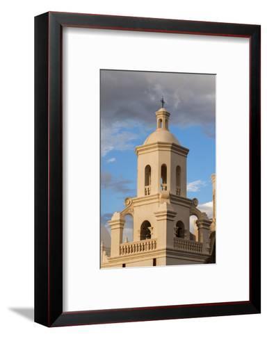 USA, Arizona, Tucson, Mission San Xavier del Bac-Peter Hawkins-Framed Art Print