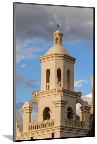 USA, Arizona, Tucson, Mission San Xavier del Bac-Peter Hawkins-Mounted Photographic Print