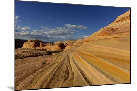 The Second Wave in the Vermillion Cliffs Wilderness, Arizona, USA-Chuck Haney-Mounted Photographic Print