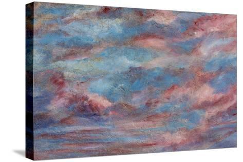 USA, Colorado, Ridgeway. Detail of Wall Painting-Don Paulson-Stretched Canvas Print