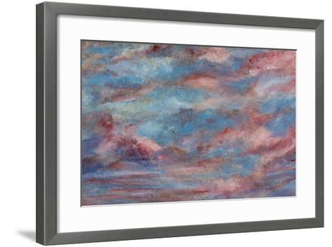 USA, Colorado, Ridgeway. Detail of Wall Painting-Don Paulson-Framed Art Print
