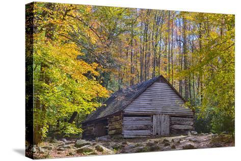 Tennessee, Great Smoky Mountains NP, Noah 'Bud' Ogle Farm-Jamie & Judy Wild-Stretched Canvas Print