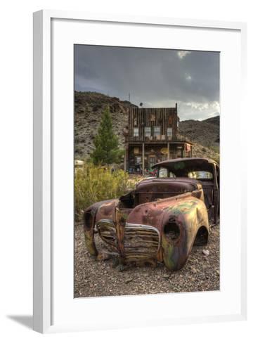 USA, Nevada, Clark County. City of Nelson-Brent Bergherm-Framed Art Print