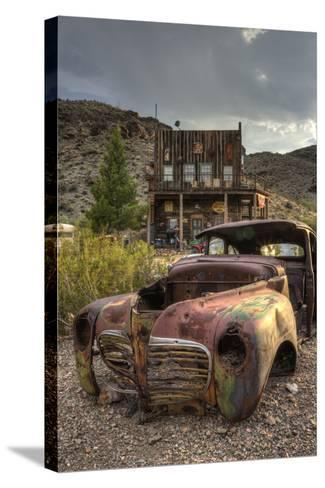 USA, Nevada, Clark County. City of Nelson-Brent Bergherm-Stretched Canvas Print