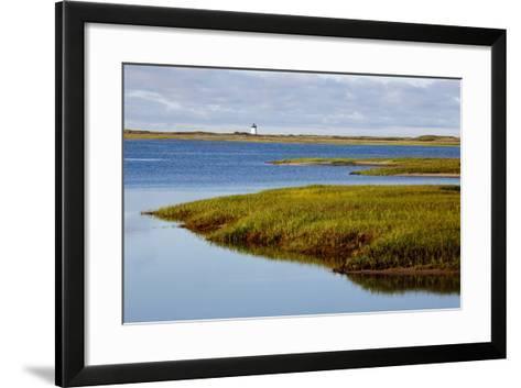 A Salt Marsh in Provincetown, Massachusetts-Jerry & Marcy Monkman-Framed Art Print