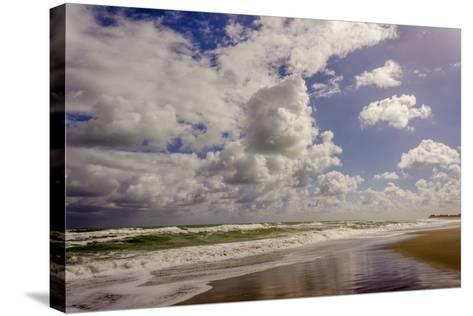 Storm Coming, Eastern Florida Coast, Atlantic Ocean, Jupiter, Florida-Rob Sheppard-Stretched Canvas Print
