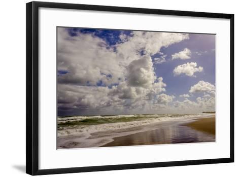 Storm Coming, Eastern Florida Coast, Atlantic Ocean, Jupiter, Florida-Rob Sheppard-Framed Art Print