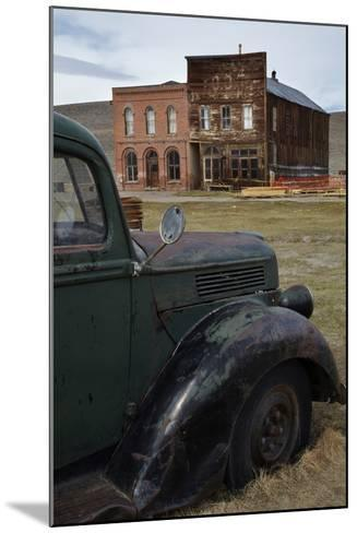 Vintage Truck, Bodie Ghost Town, Bodie Hills, Mono County, California-David Wall-Mounted Photographic Print