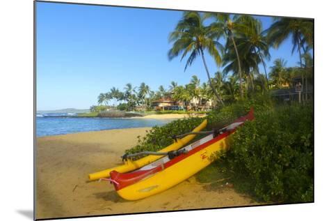 Waiohai Beach, Poipu, Kauai, Hawaii-Douglas Peebles-Mounted Photographic Print