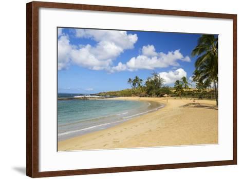 Salt Pond Beach, Park, Hanapepe, Kauai, Hawaii-Douglas Peebles-Framed Art Print