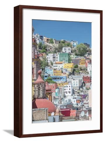 Mexico, Rooftop View of Guanajuato-Rob Tilley-Framed Art Print