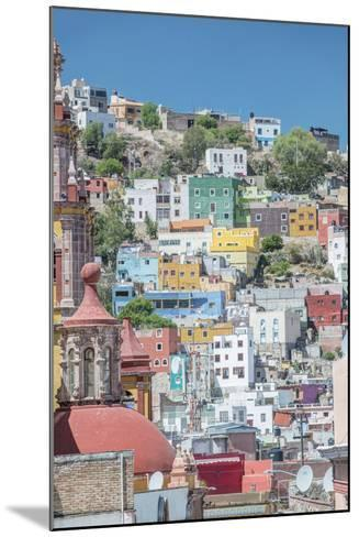 Mexico, Rooftop View of Guanajuato-Rob Tilley-Mounted Photographic Print