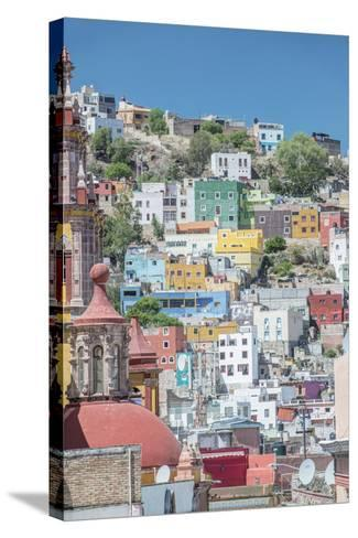 Mexico, Rooftop View of Guanajuato-Rob Tilley-Stretched Canvas Print