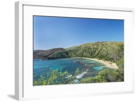 USA, Hawaii, Oahu, Hanauma Bay-Rob Tilley-Framed Art Print