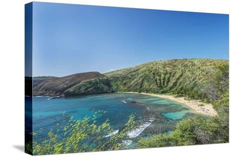 USA, Hawaii, Oahu, Hanauma Bay-Rob Tilley-Stretched Canvas Print