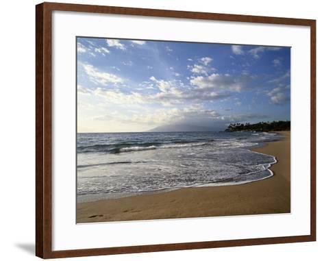Hawaii Islands, Maui, View of Wailea-Douglas Peebles-Framed Art Print