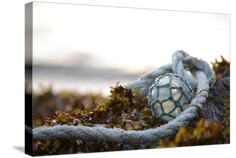 USA, Southeast Alaska Near Ketchikan, Japanese Glass Fishing Float-Savanah Stewart-Stretched Canvas Print