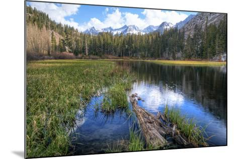USA, California, Sierra Nevada Range. Landscape with Weir Pond-Dennis Flaherty-Mounted Photographic Print